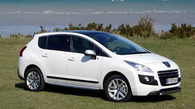 Peugeot 3008 HYbrid4 2012: Diésel y eléctrico