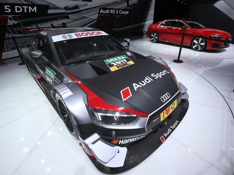 Audi RS5 DTM, belleza de carreras