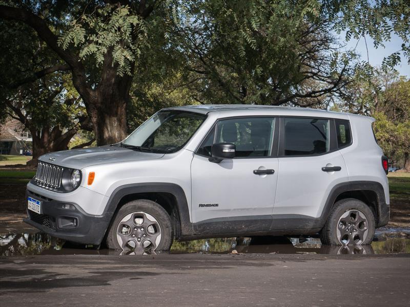 Mirada femenina: prueba Jeep Renegade