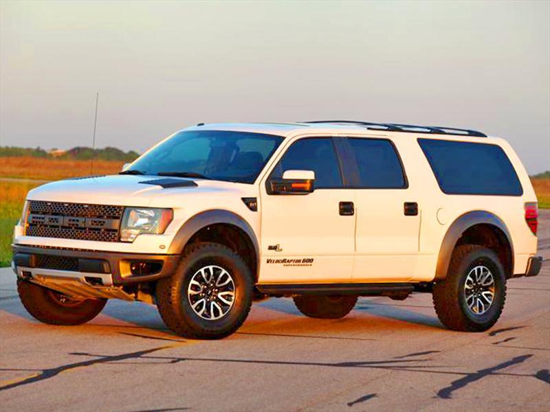 """Hennessey VelociRaptor SUV, la versión """"familiar"""" de la Ford ..."""