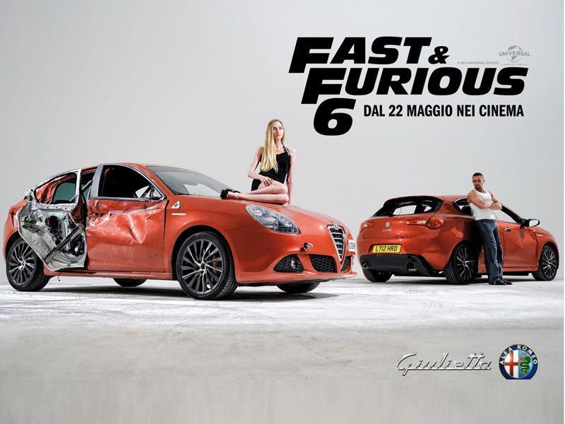 Alfa Romeo Guilietta también es protagonista de Rápido y Furioso 6 ...