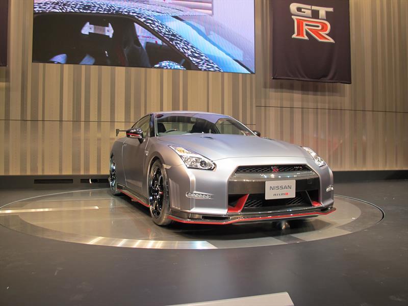 Se presenta el Nissan GT-R NISMO 2014