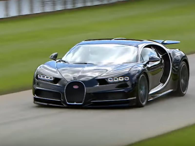 Video: El Bugatti Chiron en acción
