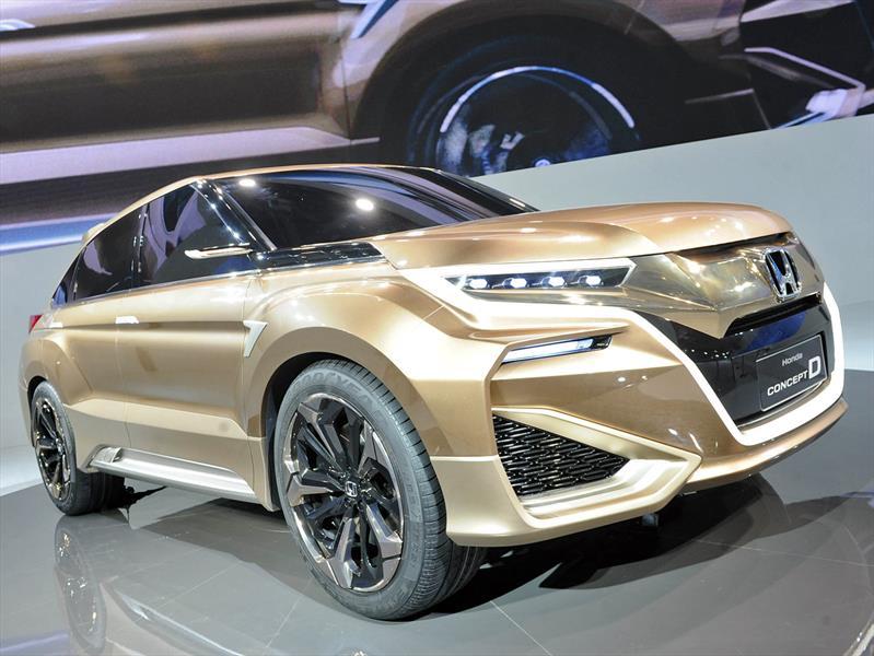 Honda Concept D, un SUV grande especial para el mercado chino