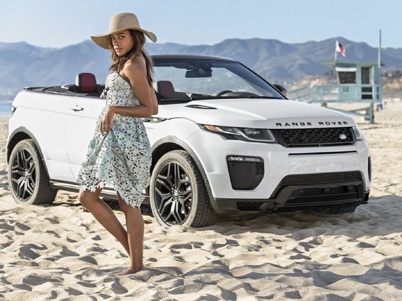 Video: Naomie Harris y el Range Rover Evoque Convertible