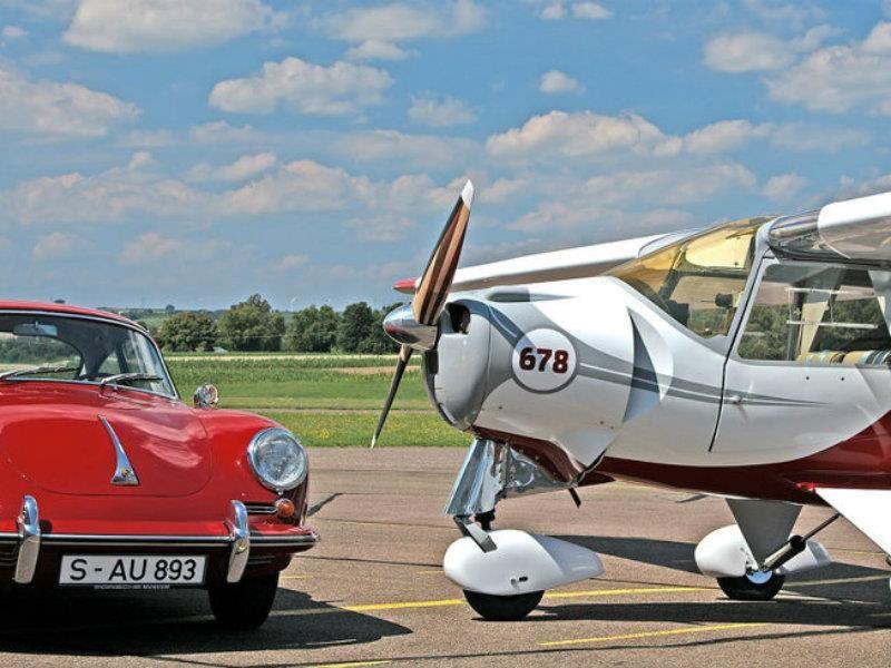 Porsche y los aviones, una historia de amor
