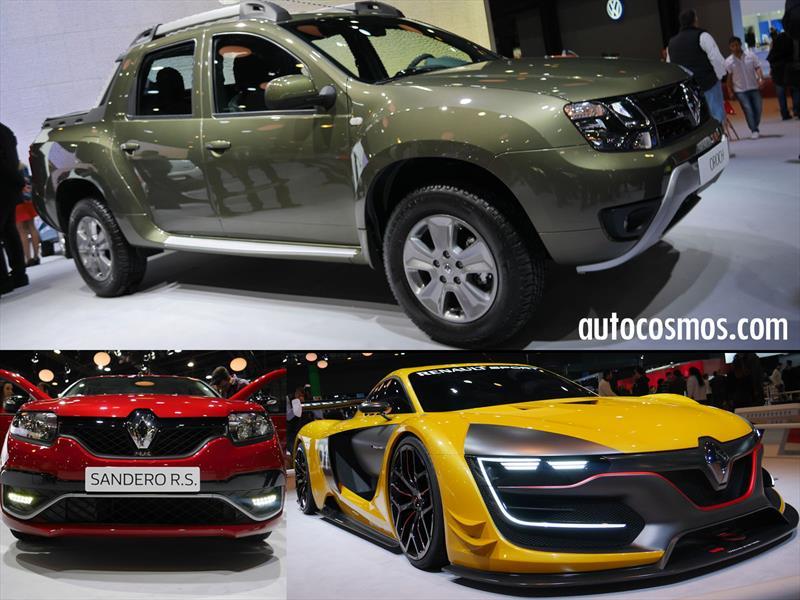 Renault: Presente en el Salón de Buenos Aires 2015