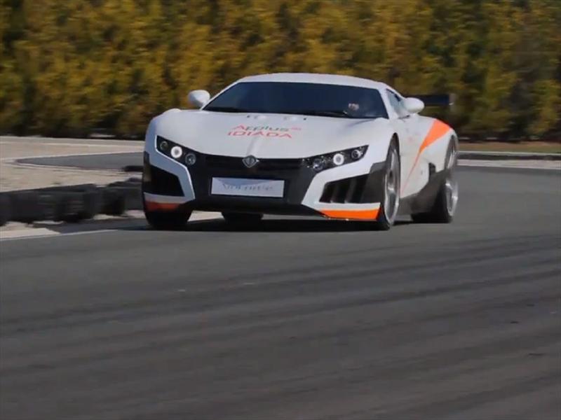 Volar-e, un super auto eléctrico de 1,000 Hp - Autocosmos.com