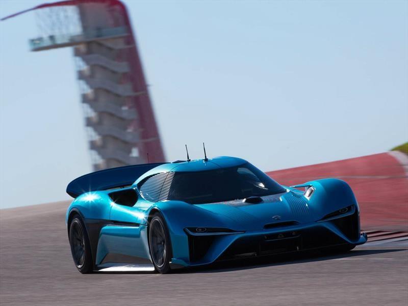 NIO EP9, el vehículo eléctrico más rápido del mundo