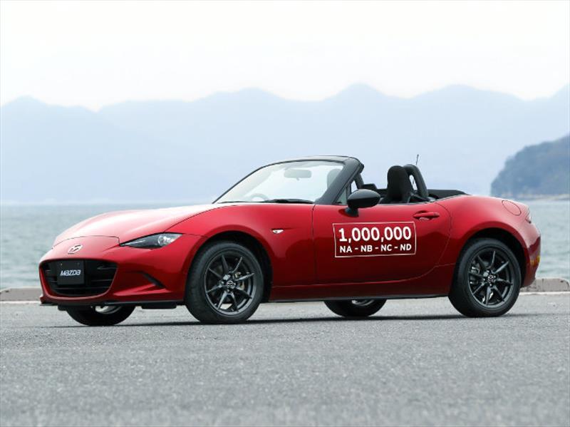Mazda MX-5 celebra un millón de unidades vendidas