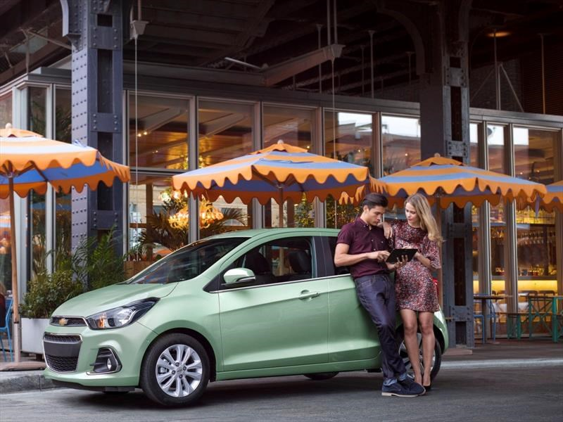Chevrolet Spark estrena transmisión CVT