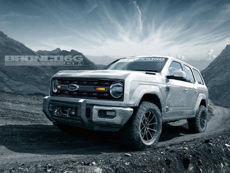 Así podría lucir el nuevo Ford Bronco