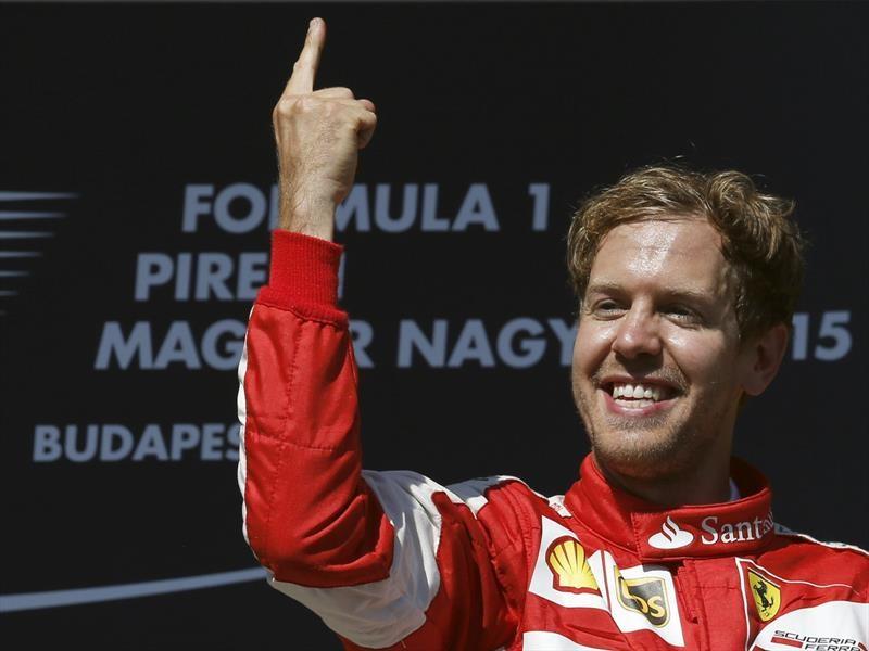 La historia detrás de la celebración de Sebastian Vettel