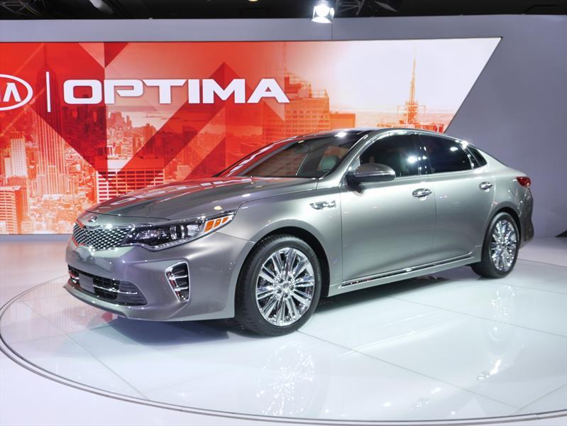 Este es el nuevo Kia Optima