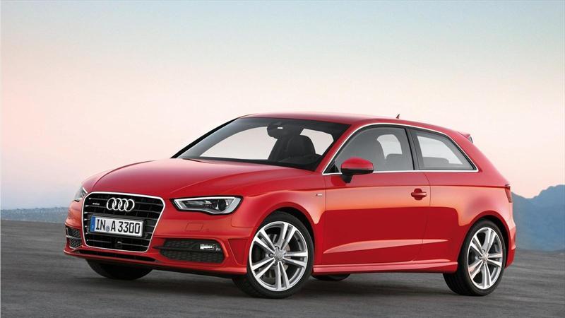 Audi A3 2013 recibe 5 estrellas de Euro NCAP