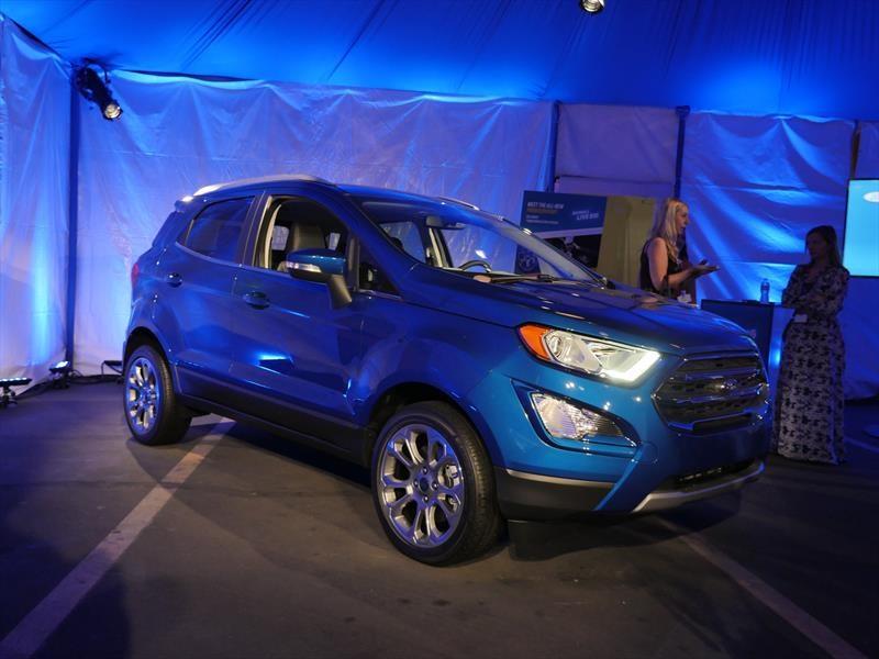 Así es la nueva Ford EcoSport