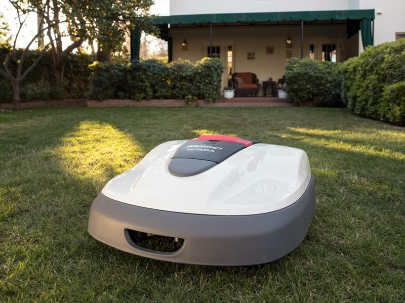Honda Miimo, una curiosa podadora autónoma
