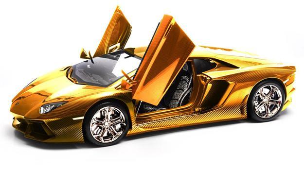 Lamborghini Aventador a escala de más de 4 millones de dólares