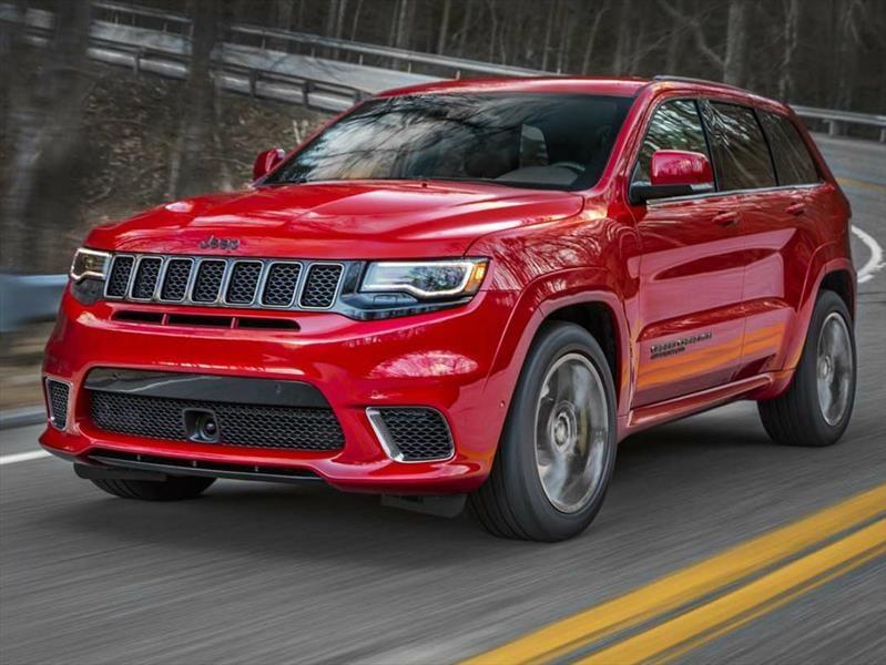 Jeep Grand Cherokee Trackhawk 2018, simplemente poderosa