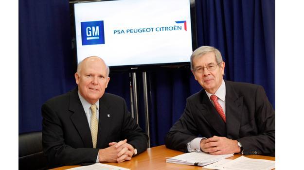 General Motors y PSA Peugeot Citröen firman alianza estratégica