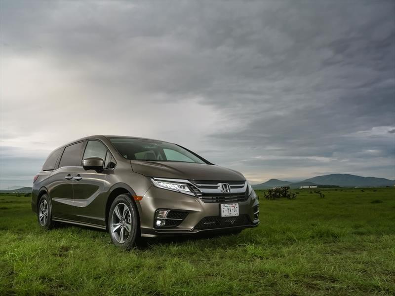 Honda Odyssey 2018 debuta