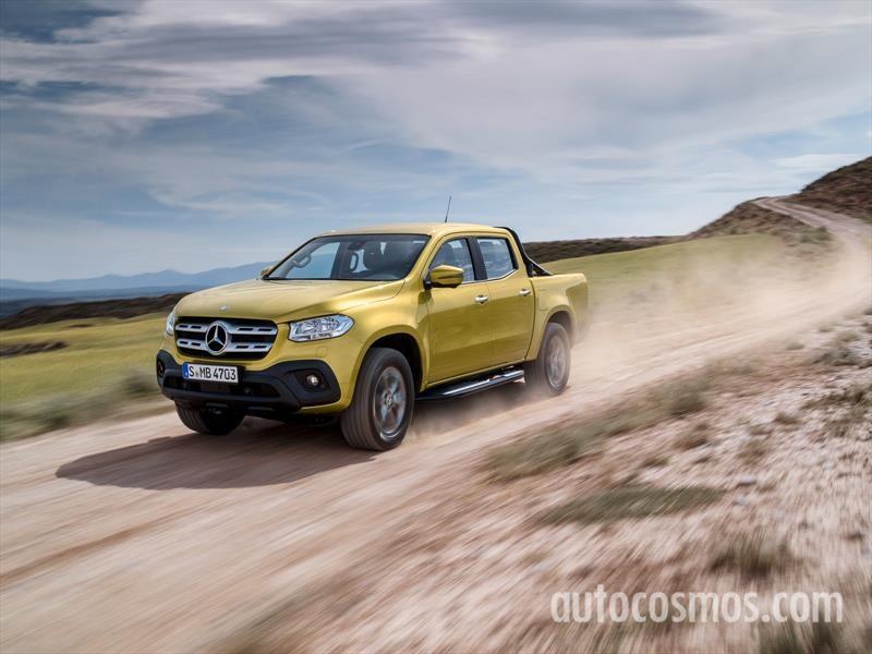Mercedes-Benz Clase X 2018, la pickup premium se presenta
