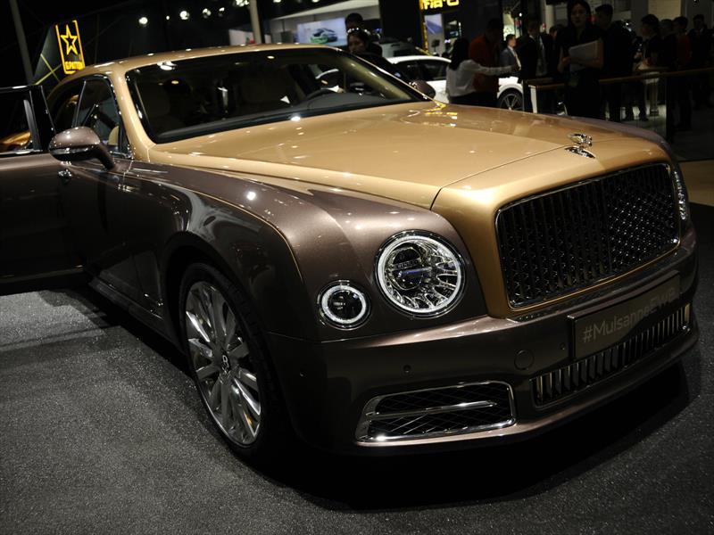 Bentley Mulsanne First Edition, limitado a 50 unidades