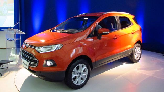 Ford EcoSport 2013: Desc&#250;brela