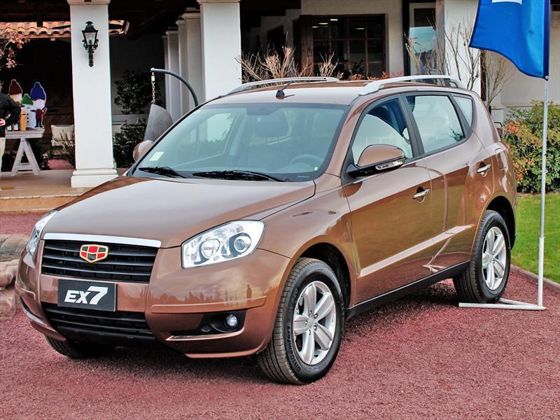 Geely Emgrand EX7: Nuevo SUV llega a Chile