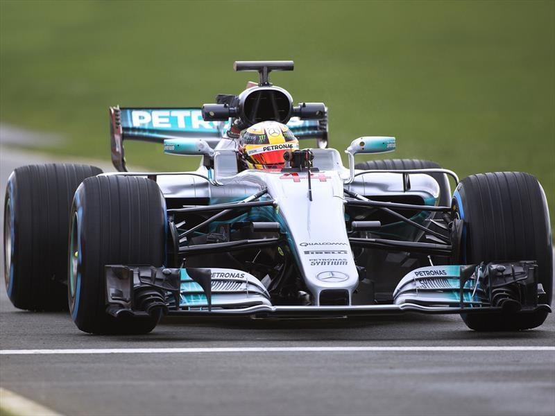 Mercedes-AMG F1 presenta el W08, su nueva flecha plateada