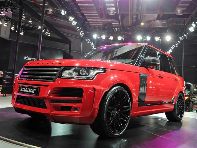 Startech Pick up, una exótica modificación a una Range Rover
