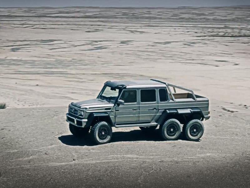 Mercedes benz presenta la incre ble g63 amg 6x6 for Mercedes benz 6x6 precio
