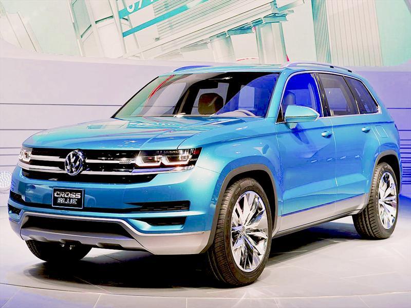 Salón de Detroit 2013 - Volkswagen CrossBlue Concept, el nuevo SUV ...