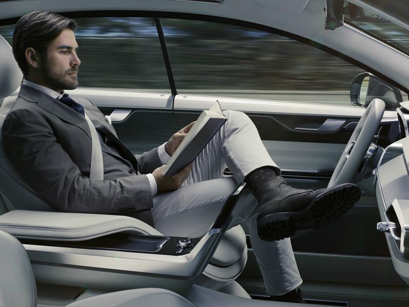 Volvo Concept 26, el asiento de los vehículos autónomos del futuro