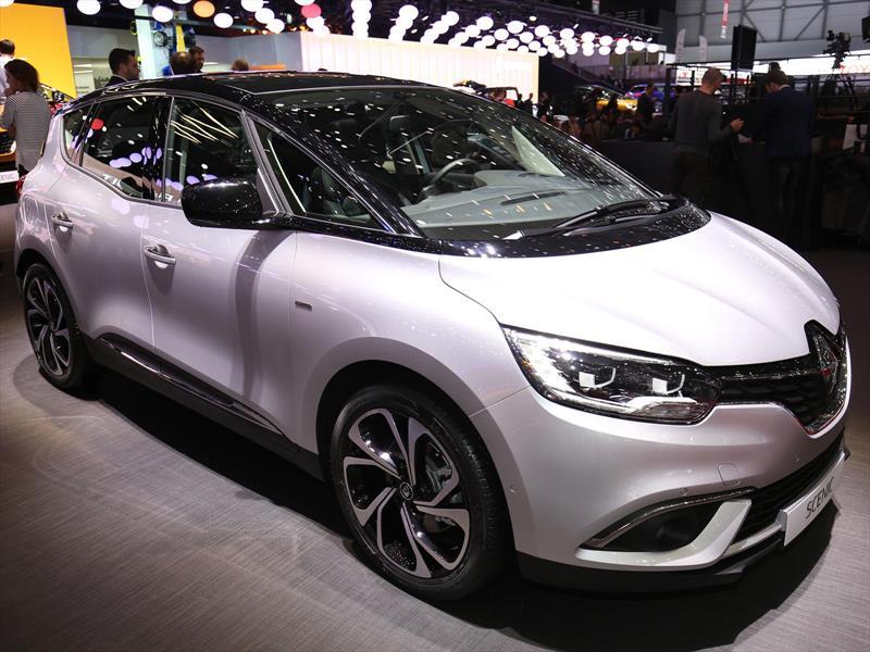 Renault Scénic 2017, una minivan que le gustaría ser SUV
