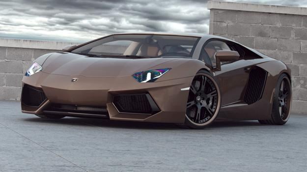 Lamborghini Aventador Chocolate por Wheelsandmore