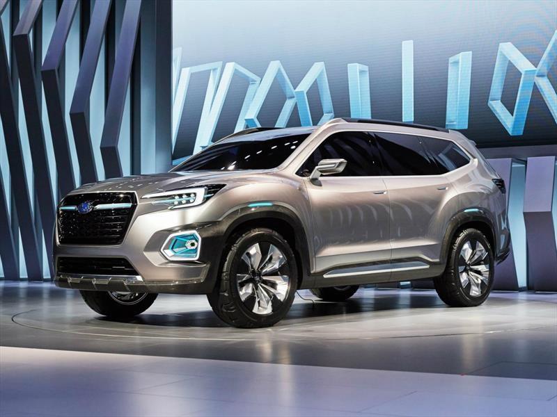 Subaru Viziv-7 SUV Concept, para compartir en el futuro