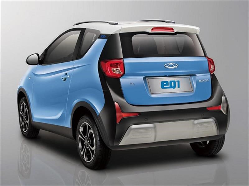 Chery eQ1, el nuevo eléctrico chino