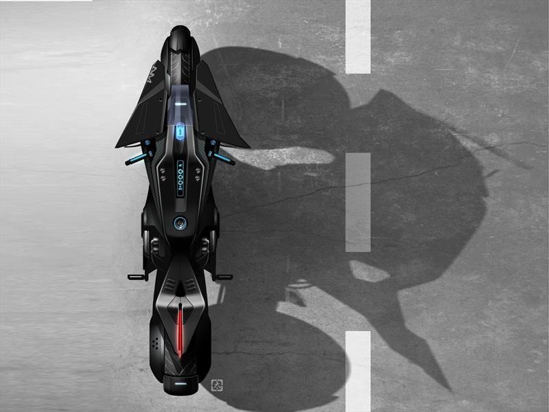 Esta es la moto de Scarlett Johansson para Ghost in the Shell