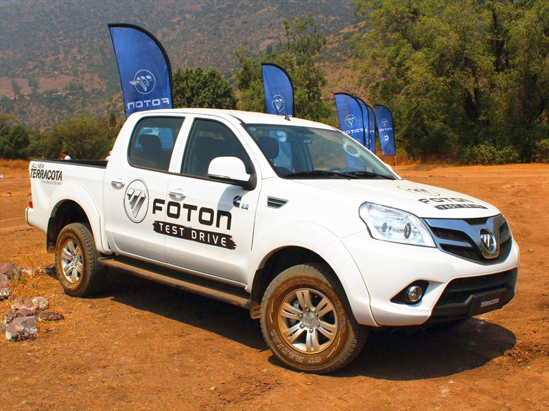 Foton Terracota: In&#233;dita camioneta llega a Chile