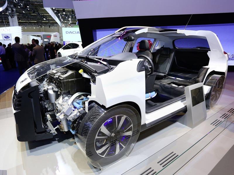 Peugeot producirá un auto híbrido con aire comprimido