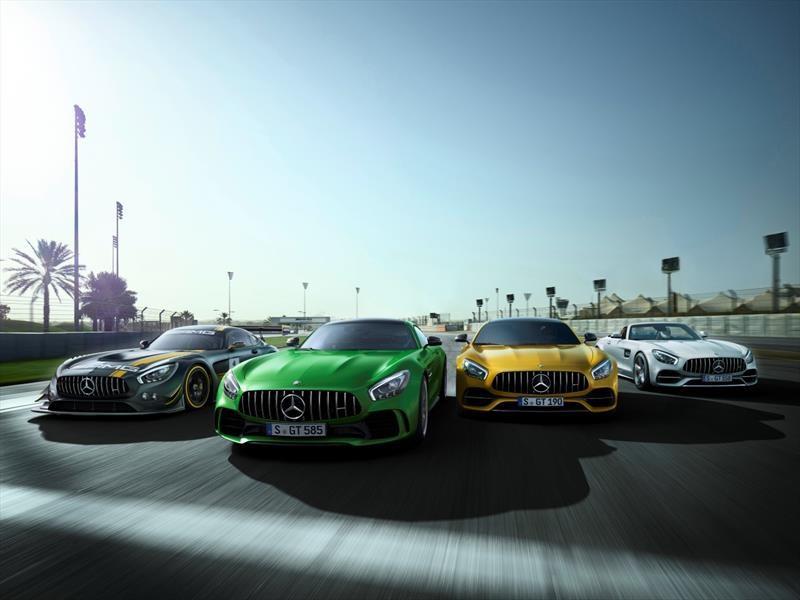 Mercedes-AMG cumple 50 años y te contamos su historia
