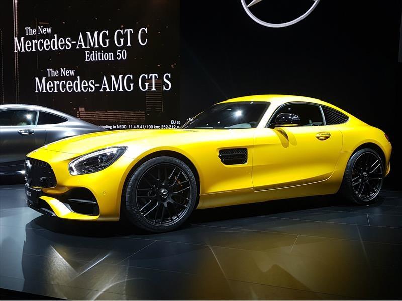 Mercedes-AMG GT 2018, eleva la dosis de deportividad
