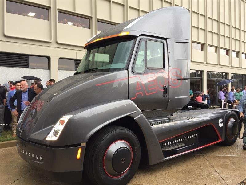 Cummins Aeos es un camión 100% eléctrico