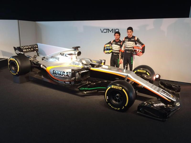 Sahara Force India, presenta el bólido de Checo Pérez para 2017