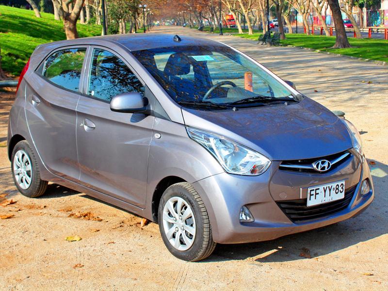 Prueba al Hyundai EON GLS 0,8 Litros: La clave está en el diseño ...