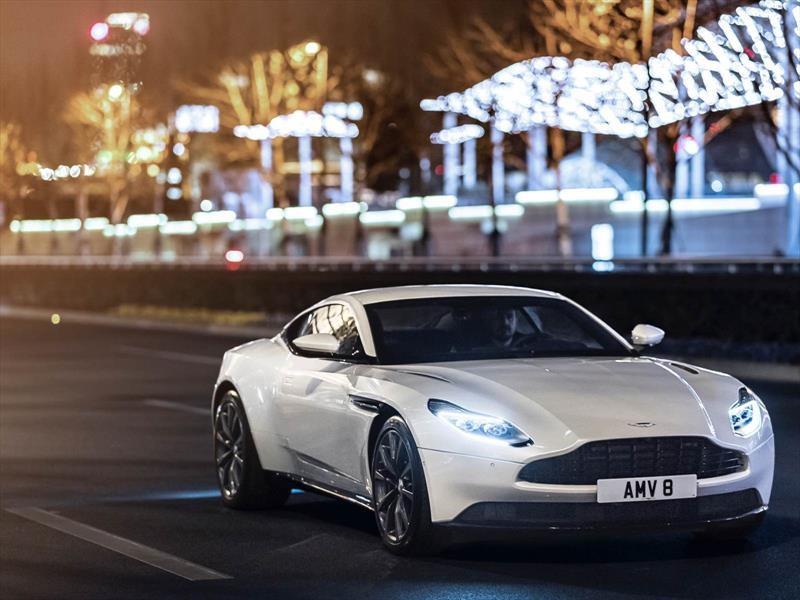 Aston Martin lanza un DB11 con motor V8