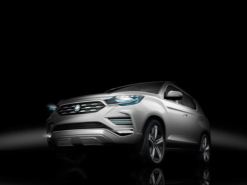 SsangYong LIV-2 Concept, o cómo será el nuevo Rexton