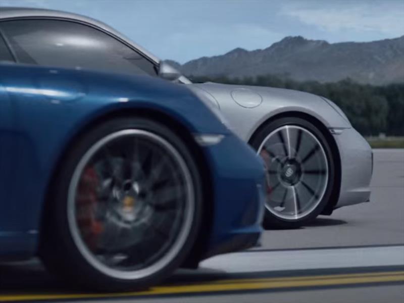 Sharapova y Muhammad Ali, estrellas del anuncio del Porsche 911