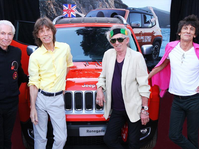 Jeep Renegade autografiado por los Rolling Stones a subasta